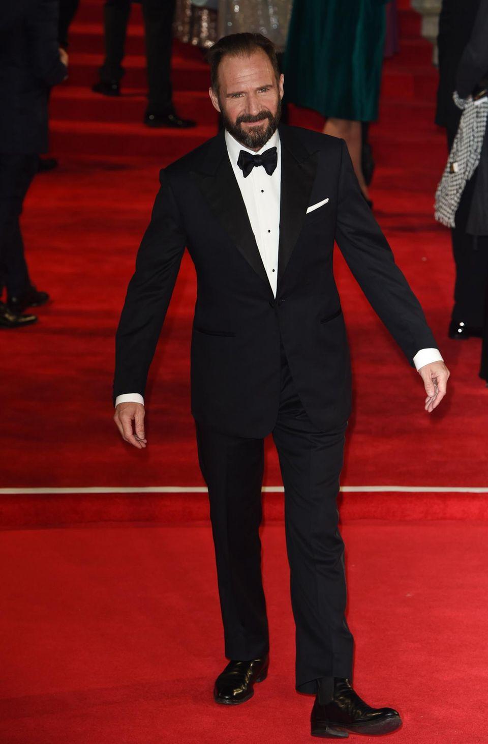 """Ralph Fiennes beerbt Judy Dench und ist als """"M"""" im neuen """"Bond"""" zu sehen."""