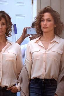 """Das doppelte Lottchen 2.0: Jennifer Lopez dreht derzeit in Queens """"Shades of Blue"""" und braucht für die gefährlichen Stunts eine Doppelgängerin."""