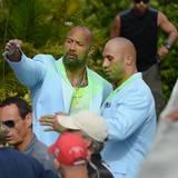 """Auch """"The Rock"""" Dwayne Johnson verzichtet nicht auf ein Bodydouble."""