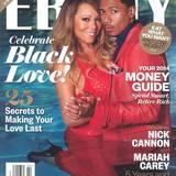 """16. Januar 2014: Mariah Carey und Nick Cannon steigen für den Titel des US-Magazins """"Ebony"""" in den Swimming Pool. Die beiden haben vergessen sich auszuziehen."""