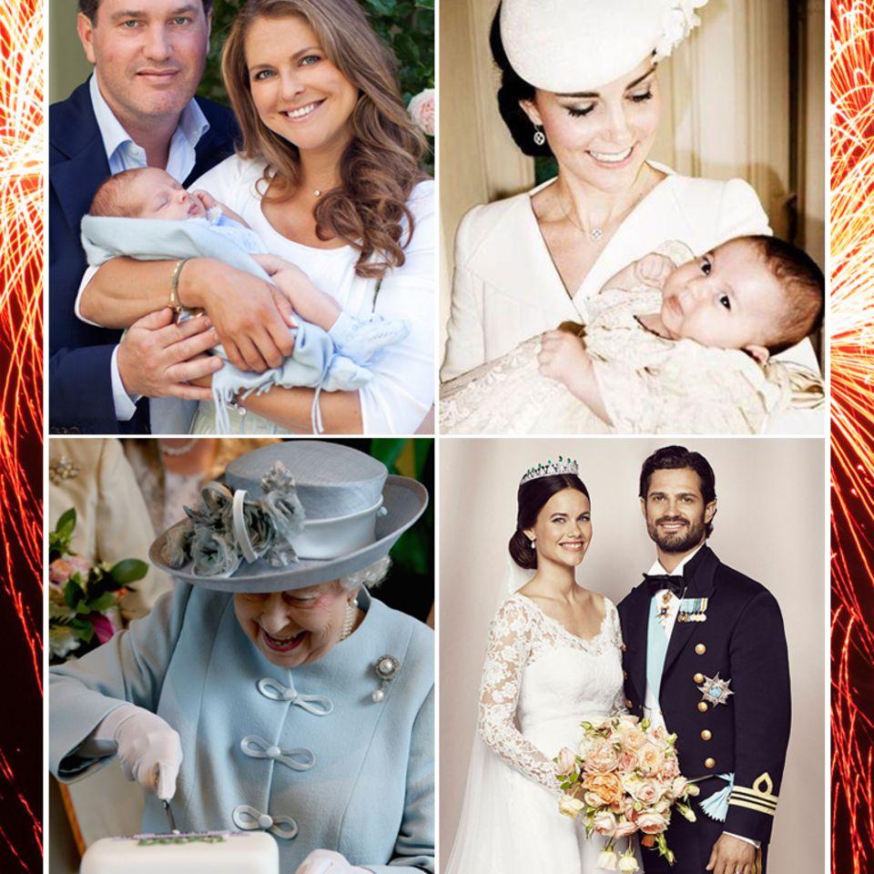 Die schönsten Royal-Momente 2015