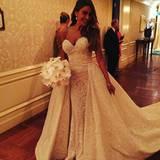 So sieht es also aus, das Brautkleid des libanesischen Designers Zuhair Murad.