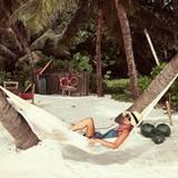 Nach der Safari durch Botswanas Landesinnere zieht es Nicky Hilton an den Strand.