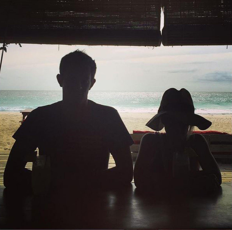 Welch traumhaften Ausblick Nicky und James während ihres Romantik-Urlaubs haben, lässt sich auf diesem Instagram-Foto erahnen. IN DER rEALITÄT IST ER ABER SICHERLICH NOCH SCHÖNER1
