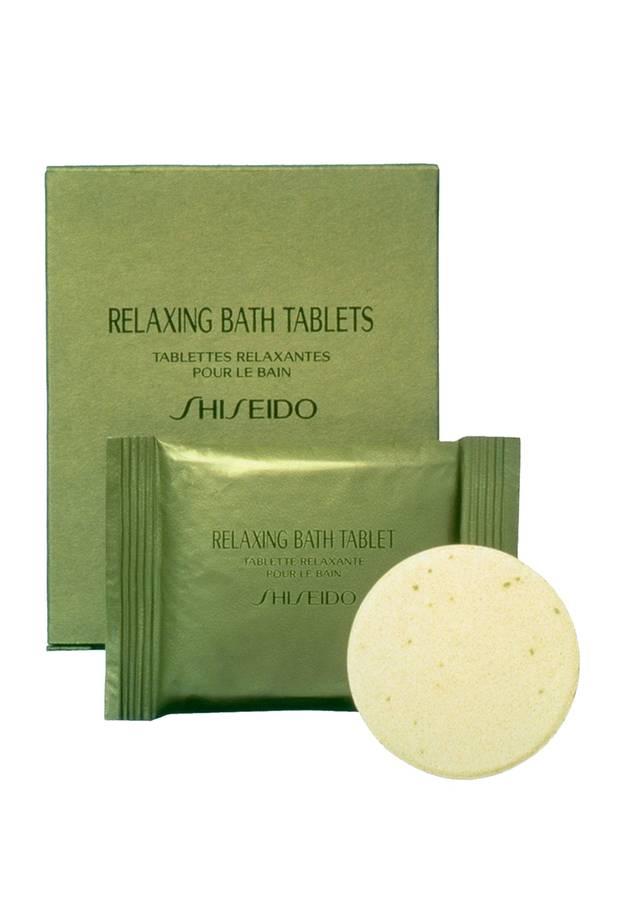 """Baden mit dem Blubb: """"Relaxing Bath Tablet"""" von Shiseido, 8 Stück, ca. 23 Euro"""