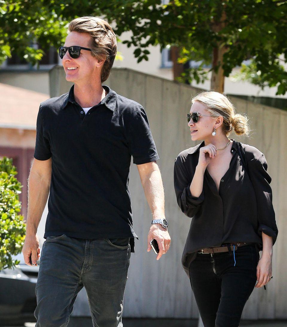 2013 - 2014: Ashley Olsen + David Schulte  Nach nur sechs Monaten geht Ashley Olsens vermeintliche Liaison zu dem millionenschweren Geschäftsmann David Schulte in die Brüche. Der deutliche Altersunterschied soll jedoch nicht der Trennungsgrund gewesen sein.