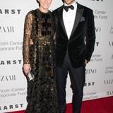 Auch die Topmodels Olivia Palermo und Johannes Huebl lassen sich die Valentino-Gala nicht entgehen.