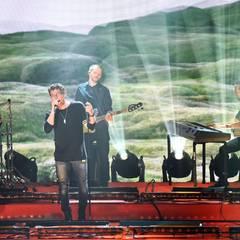 """Die norwegische Band """"A-Ha"""" um Leadsänger Morten Harket treten auf der Gala auf."""