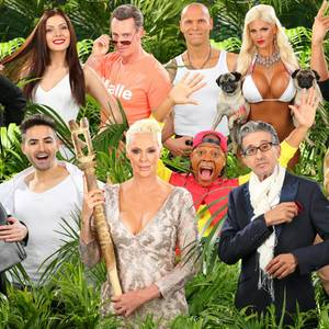 """Diese zwölf Kandidaten ziehen ins Jubiläums-Dschungelcamp  Am 15. Januar um 21.15 Uhr startet """"Ich bin ein Star - Holt mich hier raus!"""" in die zehnte Runde. Diese 12 Kandidaten kämpfen in 17 Folgen um die Dschungelkrone."""
