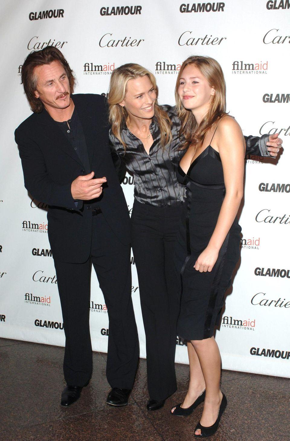 Ihre guten Gene hat die 1,74 Meter große Blondine von Hollywood-Star Sean Penn (53) und dessen Ex-Frau, Schauspielerin Robin Wright (48).