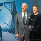 "13. November 2015: Tom Hanks und seine Frau Rita Wilson feiern die Premiere ""Bridge of Spies"" in Berlin."