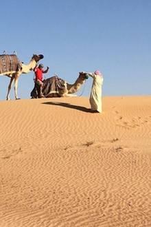 Der 46-Jährige hat sich offenbar eine ganz besondere Location ausgesucht, um seiner Liebsten die Frage aller Fragen zu stellen: die Wüste.