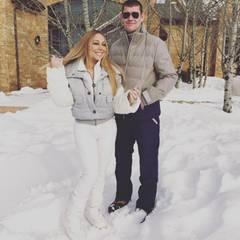 In einem romantischen Chalet verbringen Mariah Carey und Milliardär-Freund James Packer die Feiertage. Sie sind zwar erst seit einem halben Jahr ein Paar, doch scheinen - betrachtet man Mariahs Instagram-Fotos mit ihren Zwillingen Monroe und Moroccan - schon wie eine richtige Familie.