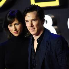 """Benedict Cumberbatch und seine Frau Sophie Hunter lassen sich das """"Star Wars""""-Spektakel nicht entgehen."""