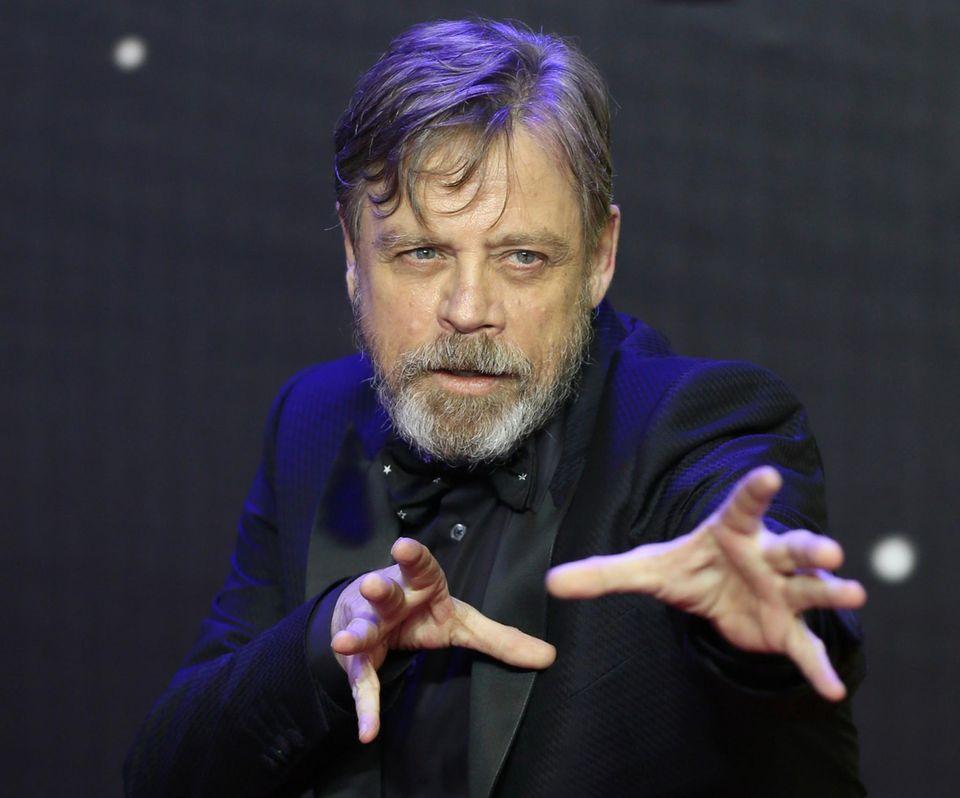 "Schauspieler Mark Hamill alias ""Luke Skywalker"""