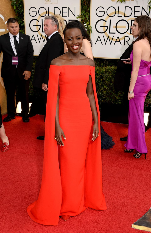 2014: Lupita Nyong'o in Ralph Lauren