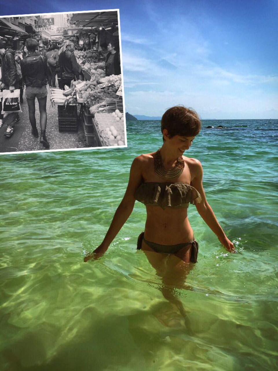 Die Schauspielerin Isabell Horn flüchtet vor Weihnachten samt Silvester und gönnt sich eine Auszeit in Thailand. Sie geht lieber im warmen Meer baden oder streunt über die Märkte.