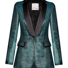 Glam Slam: Blazer mit schwarzem Revers, von Maison Common, ca. 940 Euro