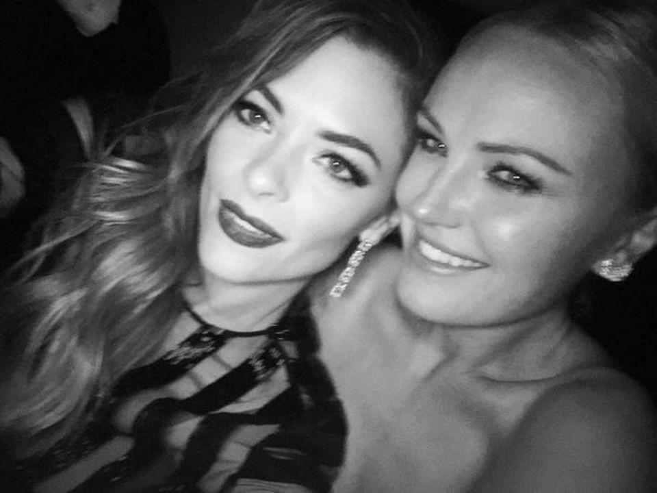 Sexy Selfie: Die Schauspielerinnen Jaime King und Malin Akerman wissen, wie es geht!