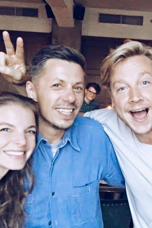 Juli 2016   Yvonne Catterfeld, Michael Beck, Samu Haber und Andreas Bourani sind voller Vorfreude auf die besten Stimmen des Landes.