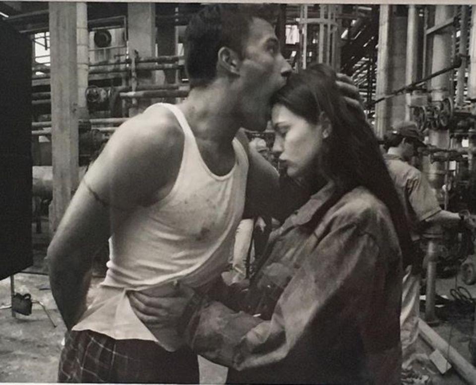 """März 2016  Gerne erinnern wir uns gemeinsam mit Liv Tyler an die """"Armageddon""""-Zeiten 1998 mit Schauspielkollege Ben Affleck."""