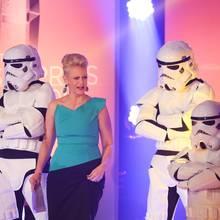 Barbara Schöneberger moderiert das Branchentreffen, das diesmal nur als Zusammenschnitt im TV gezeigt werden soll.