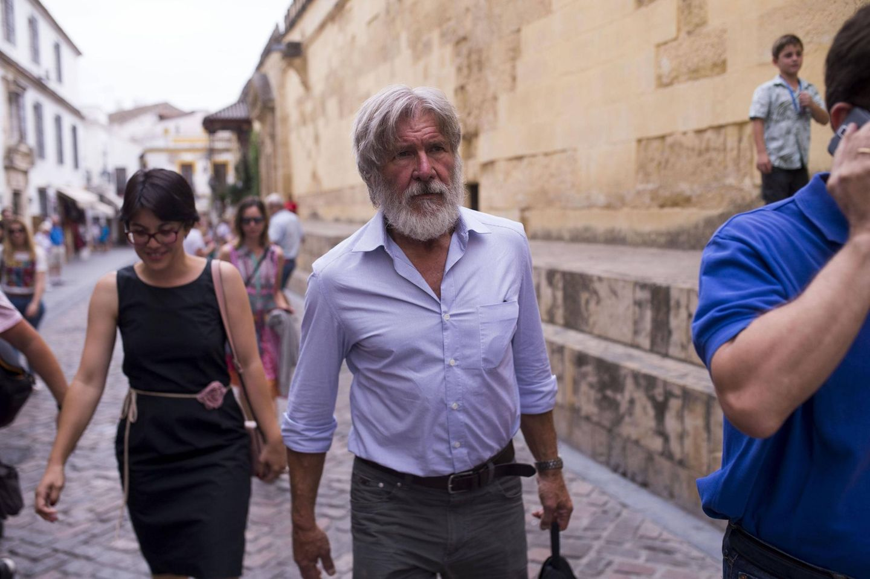 28. Juni 2016: Harrison Ford ist im Urlaub in Spanien und besichtigt die Kathedrale von Cordoba.