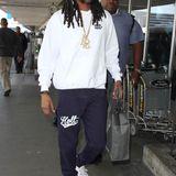 31. März 2016: Snoop Dogg wird am Flughafen in Los Angeles gesichtet.