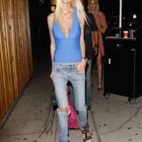 """7. August 2016: Schauspielerin Tara Reid auf dem Weg in den Promitreffpunkt """"The Nice Guy"""" in los Angeles."""