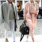 11. April 2016: Yolanda Foster und ihre Tochter Gigi Hadid sind gemeinsam in New York unterwegs.