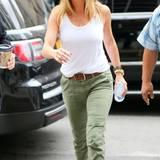 23. Juni 2016: Jennifer Aniston ist sportlich in New York unterwegs.