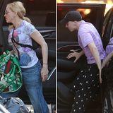 """31. Mai 2016: Die Wogen im Mutter-Sohn-Streit scheinen sich geglättet zu haben: Gemeinsam mit ihrem Sohn Rocco Ritchie besucht Madonna die Broadway-Show """"Sleep No More""""."""