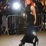 17. Februar 2016: Sie liebt den großen Auftritt: Lady Gaga ist in New York auf dem Weg zum Rainbow Room.