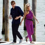 27. Juni 2016: Kate Moss und ihr Freund Nikolai von Bismarck urlauben in Venedig.