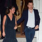 23. Juli 2016: Romantisches Dinner Date: Alicia Vikander und Michael Fassbender haben im Nobu-Restaurant in New York zu Abend gegessen.