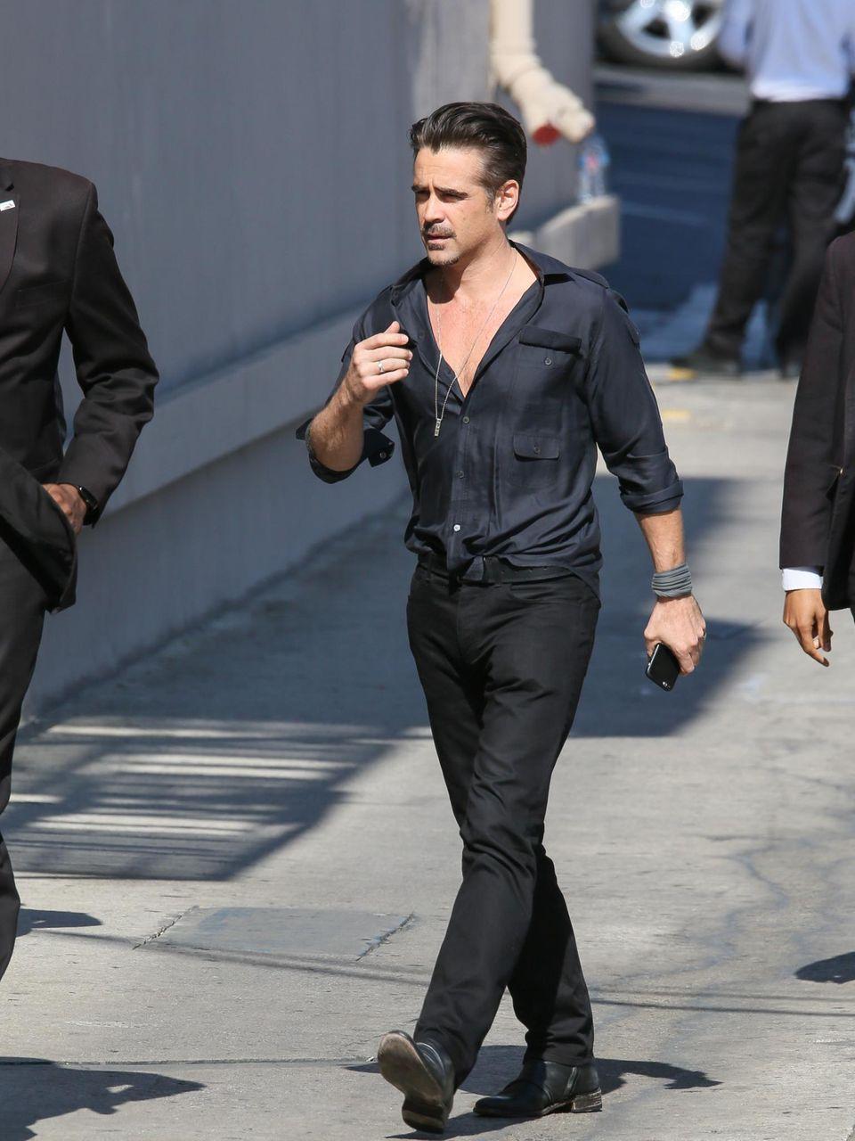 "24. Mai 2016: Colin Farrell ist in der ""Jimmy Kimmel Live""-Show in Los Angeles zu Gast."