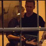 23. Juni 2016: Taylor Swift und Tom Hiddleston werden in Nashville beim Essen mit Freunden gesehen.
