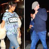 "25. Mai 2016: Rihanna und Leonardo DiCaprio feiern gemeinsam im ""Up & Down""-Nachtclub in New York City."