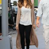 """Kate Beckinsale dreht derzeit in New York """"The Only Living Boy"""" und am Set ist sie immer elegant und doch lässig zu sehen."""