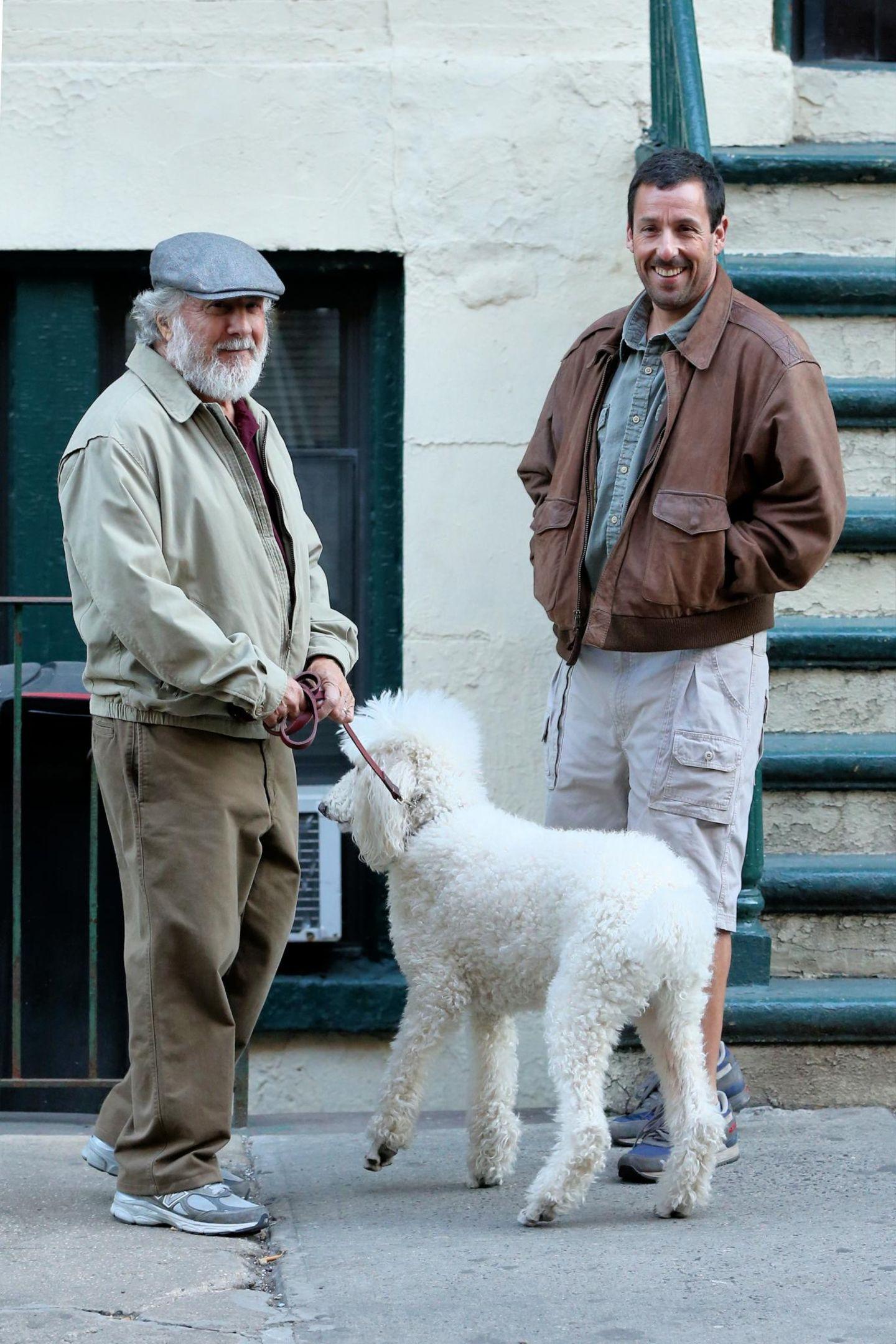 Dustin Hoffman, Adam Sandler