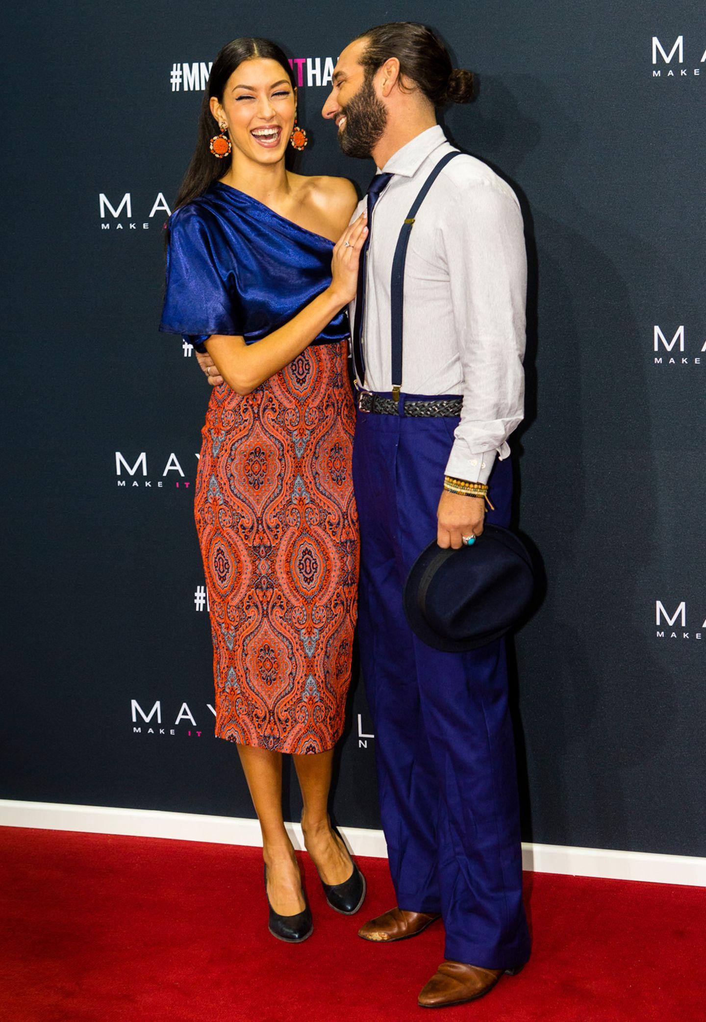 Verliebt wie am ersten Tag: Rebecca Mir und Massimo Sinato