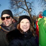 Prinzessin Märtha Louise und Ari Behn schauen auch vorbei beim Winterfest.