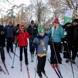 Auf die Piste: Prinz Sverre Magnus, Prinz Haakon, Königin Sonja und Prinzessin Mette-Marit haben die Skier angeschnallt.