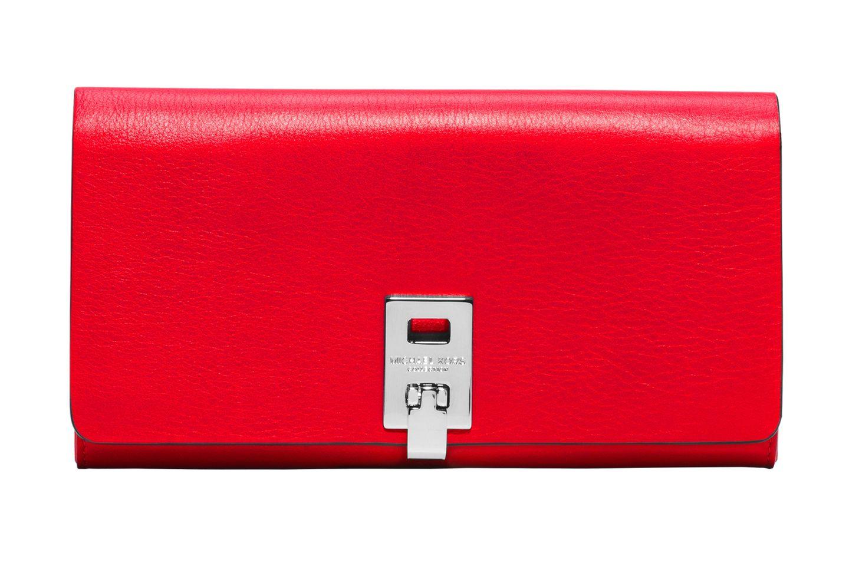 So gibt man sein Geld doch gerne aus. Portemonnaie aus Kalbsleder, von Michael Kors Collection, ca. 295 Euro