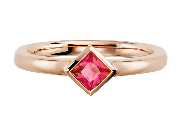 Einmal angesteckt, lässt man ihn nicht mehr wieder los! Vergoldeter Ring von Caï, ca. 60 Euro