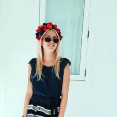 Weihnachten kann Prinzessin Maria-Olympia auf den Bahamas im luftigen Sommerkleid genießen.