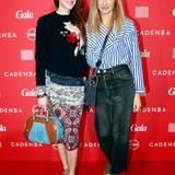 Fashion-Experten unter sich: Schauspielerin Julia Malik und GALA-Kolumnistin Sue Giers