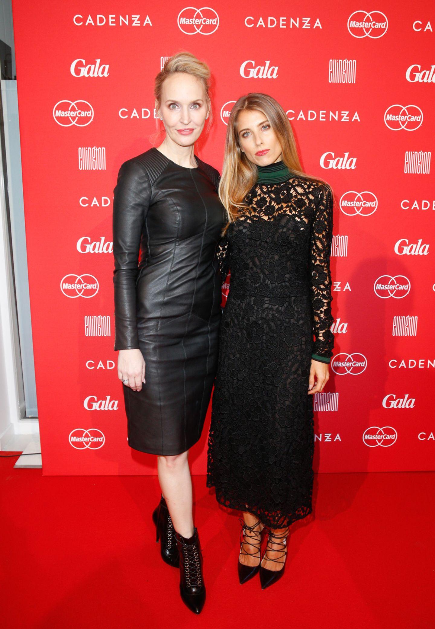 GALA-Chefredakteurin Anne Meyer-Minnemann und Mode-Profi Cathy Hummels zeigen sich gemeinsam auf dem Red Carpet des GALA Fashion Brunchs.