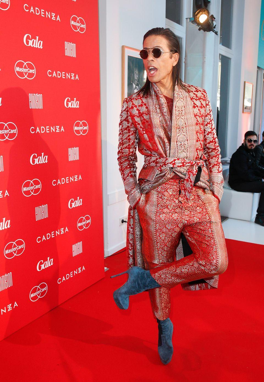 Jorge Gonzalez war bisher gar nicht auf der Fashion Week Berlin unterwegs, dafür ließ er sich auf der Modewoche in Mailand inspirieren.