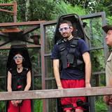 Tag 11  Dieses Mal treten Nathalie Volk und Menderes Bagci gemeinsam zur Dschungelprüfung an.